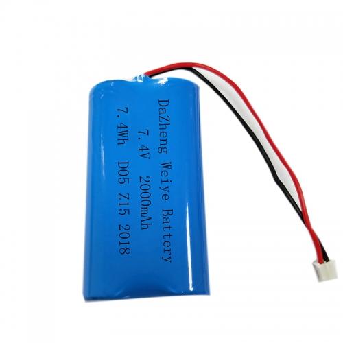 7.4 v lithium battery