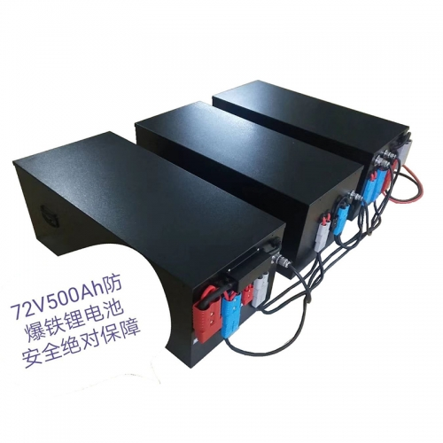 Explosion-proof iron lithium battery